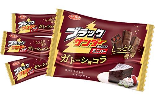 有楽製菓 160gブラックサンダーミニバー ガトーショコラ 12個×2