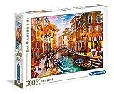 Clementoni- Puzzle 500 Piezas Atardecer en Venecia, Multicolor (35063.6)