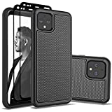 Jeylly Google Pixel 4 Case with 2x Screen Protector, Google