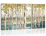 Autumn Tree Wall Art Decor Trees Canvas Painting Prints Pictures Modern Artwork Home Decor for Kitchen Living Room Dining Room
