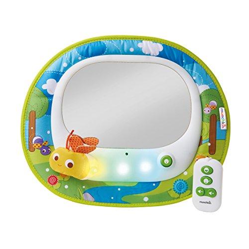 Munchkin Miroir Auto Musical à LED pour Bébé