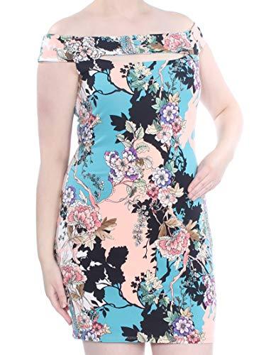 GUESS Women's Navine Off The Shoulder Bodycon Dress