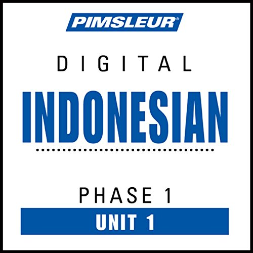 Indonesian Phase 1, Unit 01 audiobook cover art
