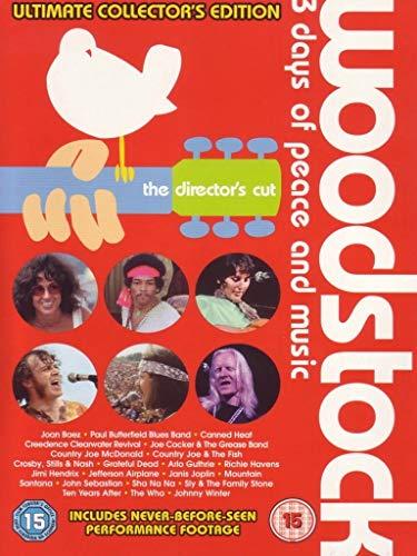 Woodstock - 3 days of peace and music(ultimate collector's edition) (the director's cut) [Edizione: Regno Unito]