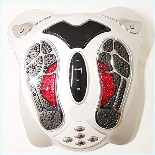 Electric Foot Massager Shiatsu Body Massager Far Infrared Heat Anio Electromagnetic Points Reflexology Feet Massage Machine Slimming