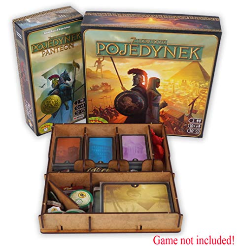 docsmagic.de Organizer Insert for 7 Wonders Duel Box - Encarte