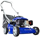 Hyundai 16 inch/40 cm, 99cc Petrol Push Rotary Lawn Mower Lightweight and Soft...
