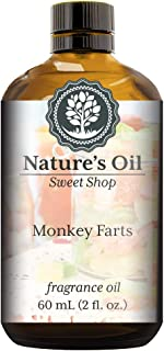 Monkey Farts Fragrance Oil (60ml) For Diffusers, Soap Making, Candles, Lotion, Home Scents, Linen Spray, Bath Bombs, Slime