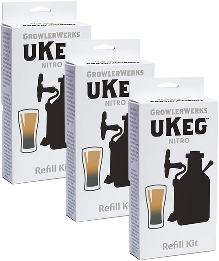 GrowlerWerks sold out uKeg Nitro Refill Kit supplies depot cold Filter brew
