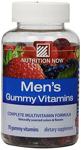 Nutrition Now Men's Gummy Vitamins, 70 Count