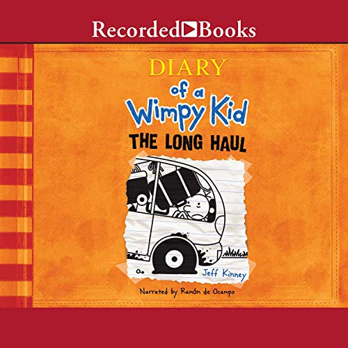 Diary of a Wimpy Kid: The Long Haul audiobook cover art
