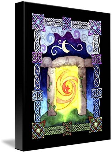 Wall Art Print entitled Celtic Doorway by Kristen Fox