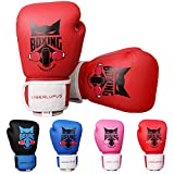 Liberlupus Kids Boxing Gloves for Boys and Girls, Boxing Gloves for Kids 3-15, Youth Boxing Training Gloves, Kids...