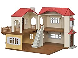 The house can be opened up for play at 90-Degrees, 180-Degrees and any angle in between, additionally, the second floor room on the left side and the roof on the right side, are removable Can be put back together to allow multiple ways to play Connec...