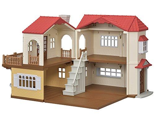 Sylvanian Families - Le Village - La Grande Maison Éclairée - 5480 - Maison de Poupée - Mini Poupées