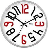 デジタル手の腕時計 クォーツ部屋の装飾ラウンド壁時計ミュートオフィス 生活クリエイティブアーツ 見ます C 16インチ