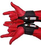 Superhero Web Launcher Web Shooter Dart Blaster Gesichts Maske Shell Halloween Cosplay Zubehör Prop