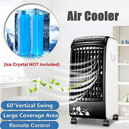 Mobile Klimaanlage Raumkühler:3In1-Luftkühler, Luftbefeuchter & Ionisator, Timer, Fernbedienung, 65W(Luftkühler Befeuchter)