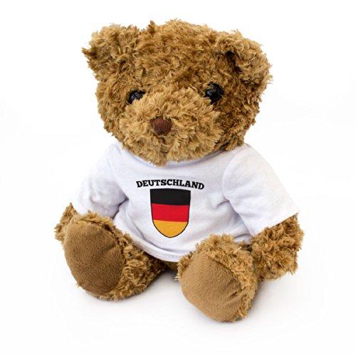 London Teddy Bears B8-0M00-LCTV Duitse vlag, bruin