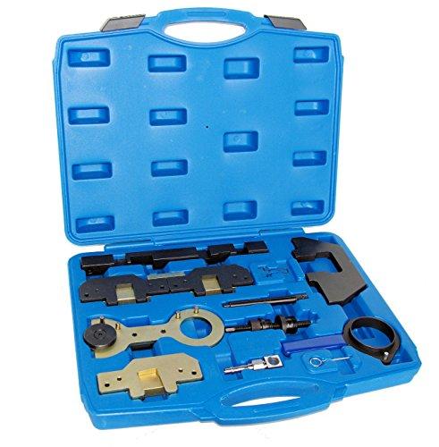 Motor Einstell Werkzeug Steuerkette wechseln Nockenwellen Kurbelwellen Arretierung geeignet für BMW M42 M44 M50 M52 M54 M56 E30 E34 E36 E38 E39 E46