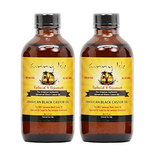 Sunny Isle Jamaican Black Castor Oil 4oz Pack of 2 by Sunny Isle