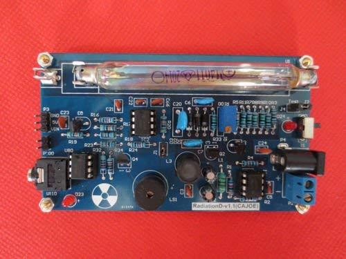 Jian Ya Na US Assembled DIY Geigerzähler Kit Kernstrahlungsdetektor Arduino Rohr