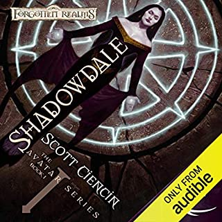 Shadowdale audiobook cover art