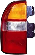Tail Light Assembly Replacement For Suzuki Xl7 | Grand Vitara | Chevrolet Chevy Tracker Driver Left Side 2001 2002 2003 Taillamp SZ2818103