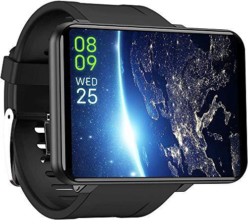 JSL Reloj inteligente 4G con ranura para tarjeta SIM Full Touch 2880mAh Cámara de batería Música Gratis Video Chat Frecuencia Cardíaca Modo Multideporte IP67