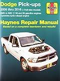 Haynes Repair Manuals 30043 for Dodge Full-Size Pick-ups 2009-2016
