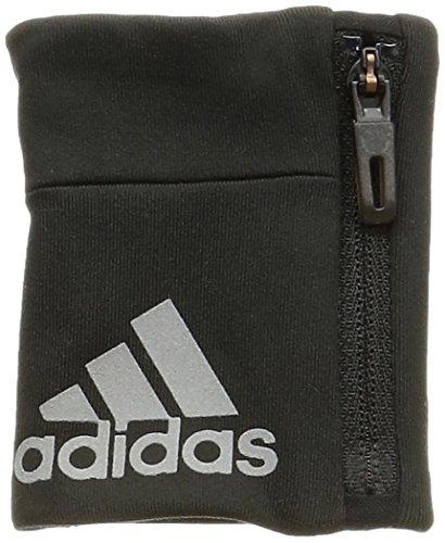 Adidas Clmlt WB Wristband, Unisex Adulto, Nero/Silver Met, OSFM