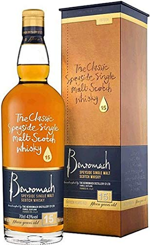 Benromach 15 years old Whiskey 6 x 0,7 L. Benromach Distillery