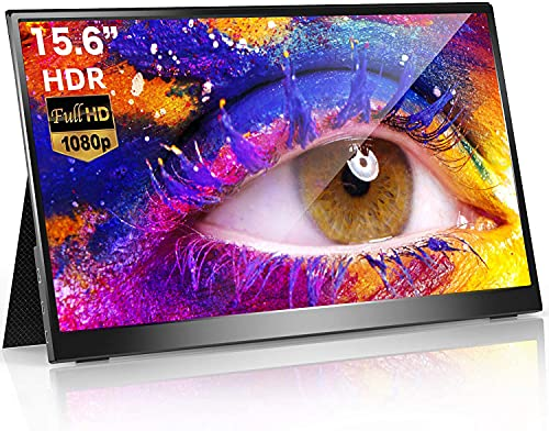 モバイルモニター モバイルディスプレイ cocopar15.6インチ スイッチ用モニター 非光沢IPSパネル 薄い 軽量 1920x1080FHD HDRモード/ブルーカット機能 USB Tpye-C/mini HDMI/カバー付 zs-156; セール価格: ¥17,756