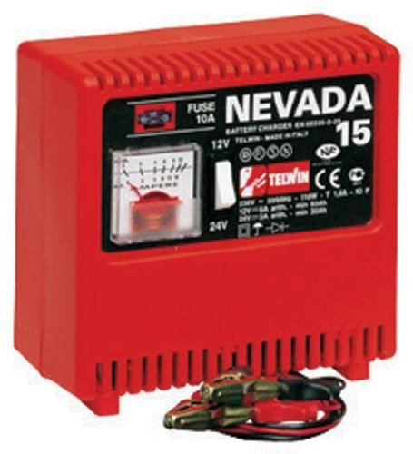 Caricabatteria Telwin Nevada 15 12-24V 9A per Batterie ad Elettrolita