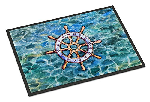 Caroline Tesoros del Volante timón Felpudo, 24h x 36W, Multicolor
