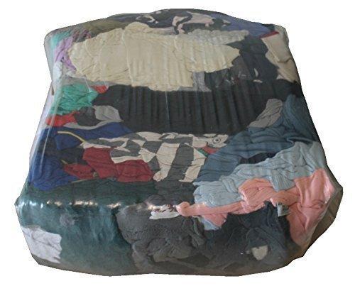 20 kg Putzlappen Putztücher Reinigungstücher bunt reines Trikot geschnitten Werkstatt Tücher