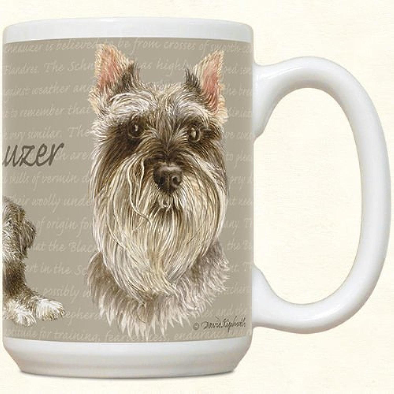 Schnauzer Ceramic Mug - David Kiphuth by Fiddler's Elbow