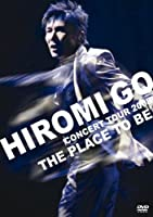 """HIROMI GO CONCERT TOUR 2008 """"THE PLACE TO BE""""(初回生産限定盤) [DVD]"""