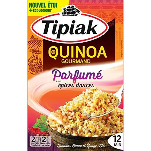 TIPIAK - Quinoa Gourmand Parfumé Aux Épices Douces 240G - Lot De 3 - Livraison Rapide En France - Prix Par Lot