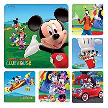 Mickeymouse Clubhouse Stickers 100 per roll
