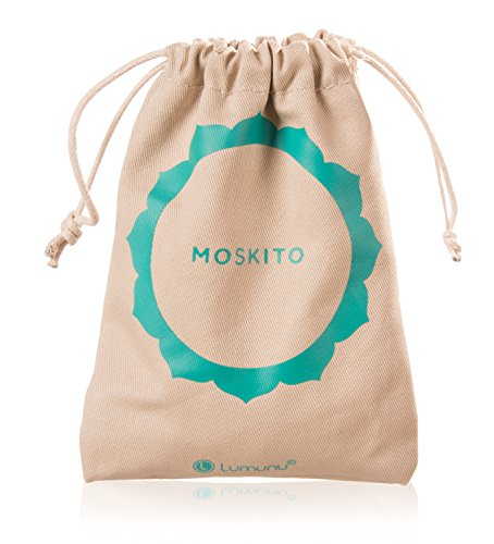 Deluxe Menstruationstasse Moskito aus medizinischem Silikon, Menstruationskappe inkl. Natur Reinigungsbürste, Beutel & Geschenkbox (Größe A) - 8