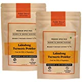 Pahari Roots Lakadong Turmeric Haldi Powder from Meghalaya with High Curcumin of 7%+