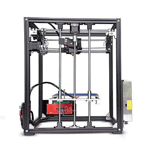 Kit stampante 3D Tronxy X5 fai da te Grande formato di stampa 210 * 210 * 280mm Schermo LCD12864 Telaio in metallo ad alta precisione