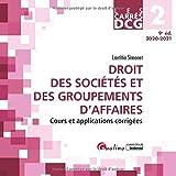 Droit des sociétés et des groupements d'affaires DCG 2