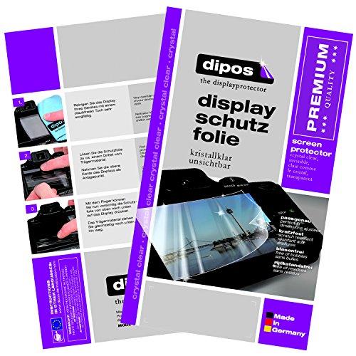dipos I Hart-Glas kompatibel mit HTC One M9 Plus Panzerfolie I 9H Echtglas Schutzfolie Bildschirmschutz-Folie