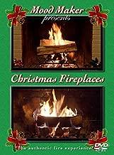 Christmas Fireplaces DVD - Includes Christmas Music Option and Bonus Fireplace