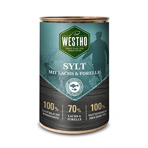 Westho Dog Dose | Sylt Lachs & Forelle | 400g