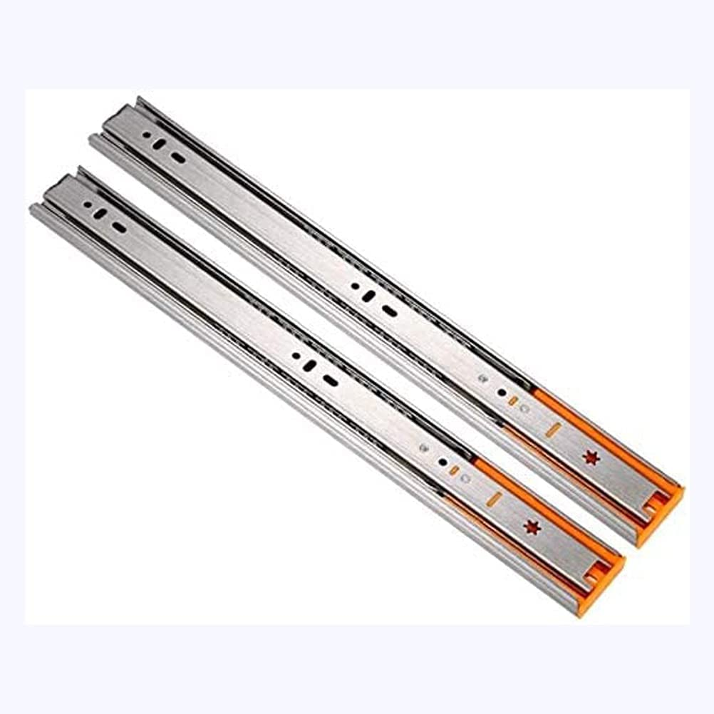YDSHOLL Drawer Slide Rail Roller Two Folds Sect Albuquerque Mall Telescopic Track Bargain