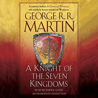 A Knight Of The Seven Kingdoms Audiobook Cover Art Game Thrones