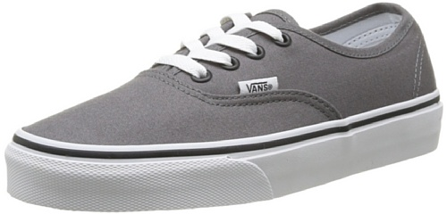 Vans Authentic, Sneaker Unisex - Adulto, Grigio (Pewter/Black), 43 Eu